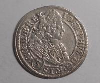 Slezsko – Vratislav 3 Krejcar 1711 Josef I.