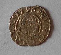Uhry Denár 1596 KB Rudolf II.