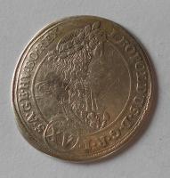 Uhry – Kremnica 15 Krejcar 1694 Leopold I., stav