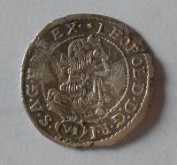 Uhry – Kremnica 6 Krejcar 1681 Leopold I.
