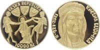 10000 Kč(2021-Svatá Ludmila), stav PROOF, etue a certifikát