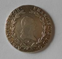 Čechy 20 Krejcar 1809 C František II.