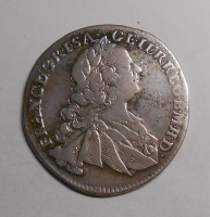 Čechy – Praha 7 Krejcar 1763 Fr. Lotrinský