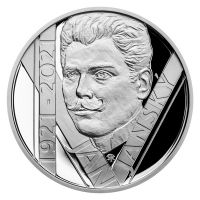 200 Kč(2021-Jan Jánský), stav PROOF, etue a certifikát