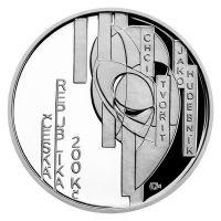 200 Kč(2021-František Kupka), stav PROOF, etue a certifikát