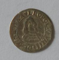 Olomouc – Arcibiskupství 1 Krejcar 1653 Leopold Vilém