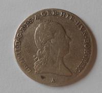 Rakousko 1/4 Tolar 1791 A Leopold II.