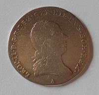 Rakousko 1/4 Tolar 1792 A Leopold II.