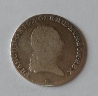 Rakousko 1/4 Tolar 1797 G František II.