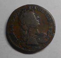 Rakousko 1 Krejcar 1760 W Fr. Lotrinský