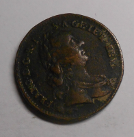 Rakousko 1 Krejcar 1762 W Fr. Lotrinský