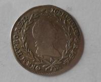 Rakousko 10 Krejcar 1783 A Josef II.
