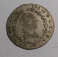 Rakousko 5 Krejcar 1790 A Fr. Lotrinský