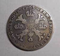 Rakousko – Brusel Tolar 1763 Fr. Lotrinský