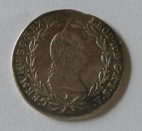 Uhry 10 Krejcar 1792 B Leopold II.