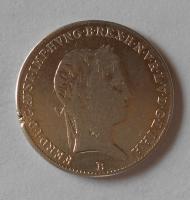 Uhry 10 Krejcar 1841 B Ferdinand V., měl ouško