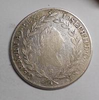 Uhry 20 Krejcar 1787 B Josef II.