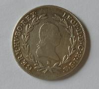 Uhry 20 Krejcar 1791 B Leopold II.
