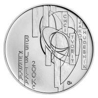 200 Kč(2021-František Kupka), stav bk, kapsle a certifikát