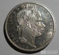 Rakousko 2 Fl 1870 A