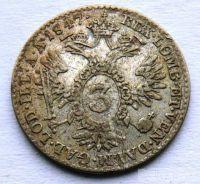 Rakousko 3 Krejcar 1847 A Ferdinand V.