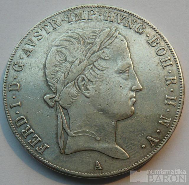 Rakousko Tolar 1840 A Ferdinand V.