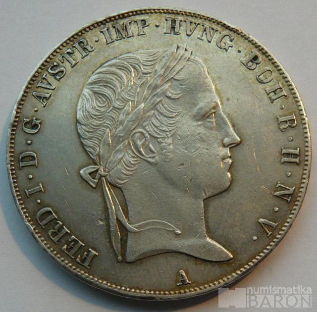 Rakousko Tolar 1843 A Ferdinand V.