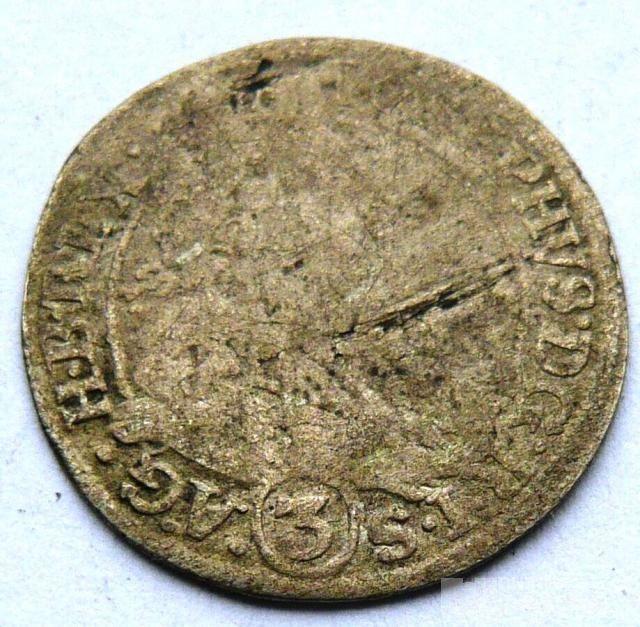 Slezsko 3 Krejcar 1701 Leopold I.