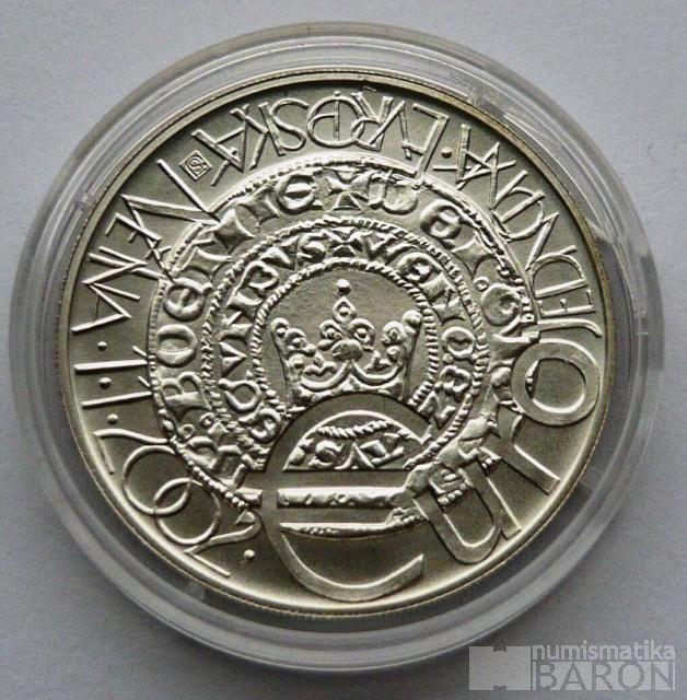 200 Kč(2001-Euro), stav 0/0, certifikát