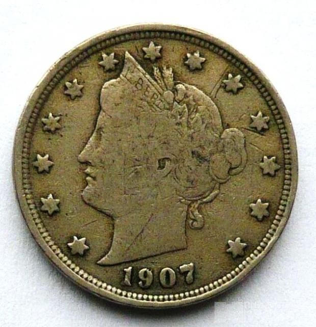 USA 5 Cent 1907